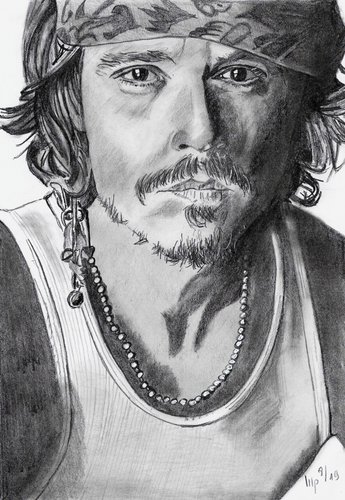 Johnny Depp by patrick